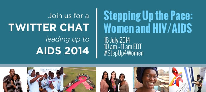 Women and HIV/AIDS Twitter chat